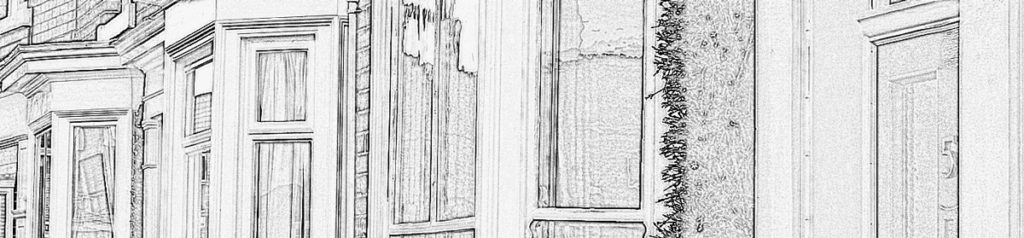 Header image showing partial row of sash windows