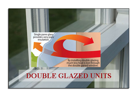Sash window with reduced heat loss diagram