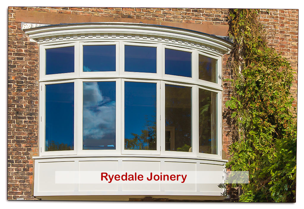 Bespoke Bow Window in Accoya timber