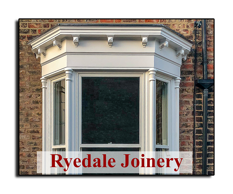 Illustration of a wood sash window manufactured and fitted by Ryedale Joinery.